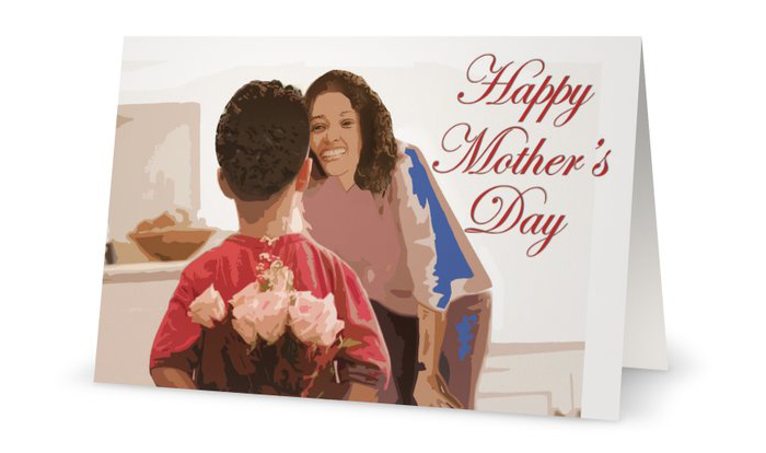 Mother's Day from Son