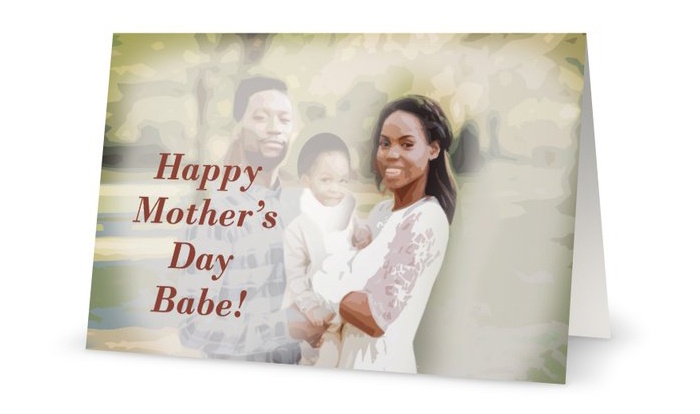 Happy Mother's Day Babe!